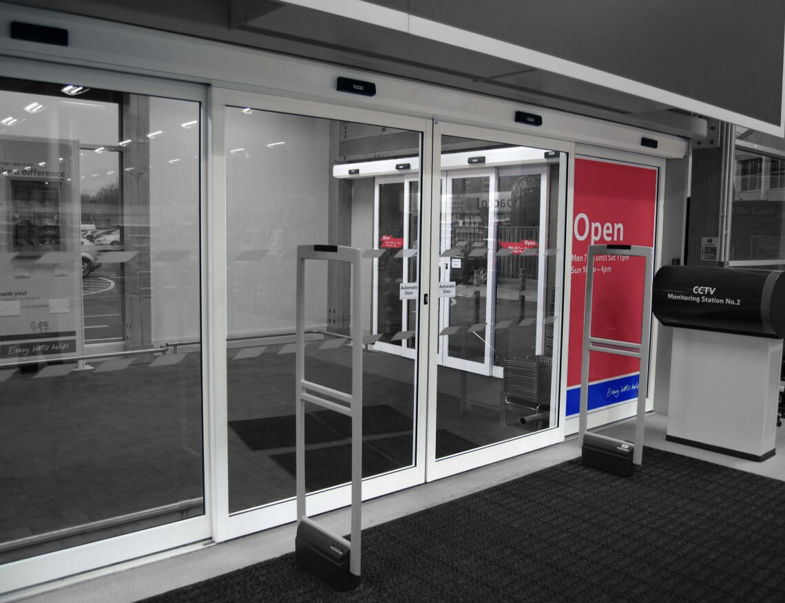 Shop Front Doors And Automatic Sliding Doors Arrow