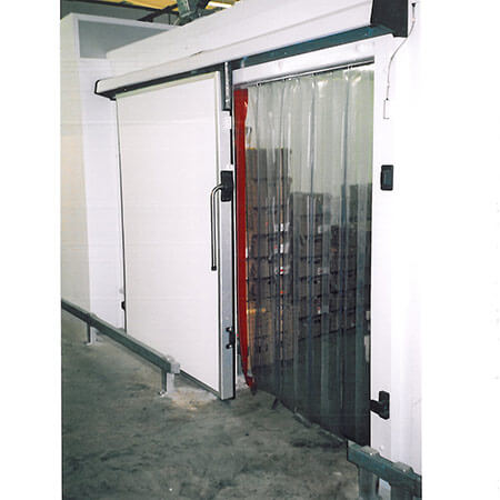... Plastic Door Curtains : Double Ribbed Pvc Strip Curtains Arrow  Industrial Uk ...