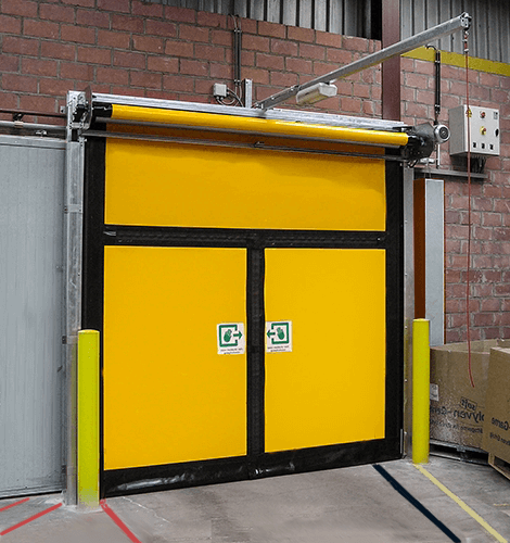 Emergency M2 Rapid Roll & Emergency Exit High Speed Doors | Arrow Industrial UK
