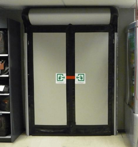 ARROW Emergency Exit -D313 Rapid Roll Door