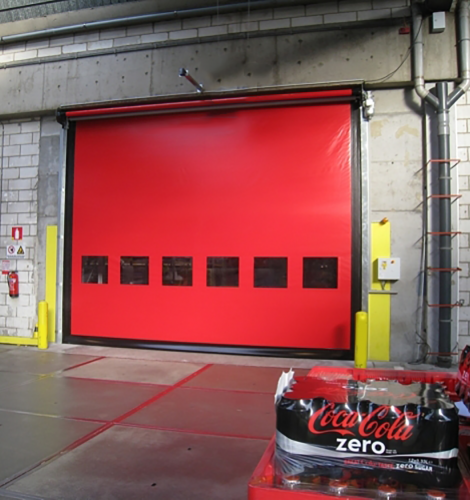 DYNACO-M3-COMPACT-high-speed-door without sign 2