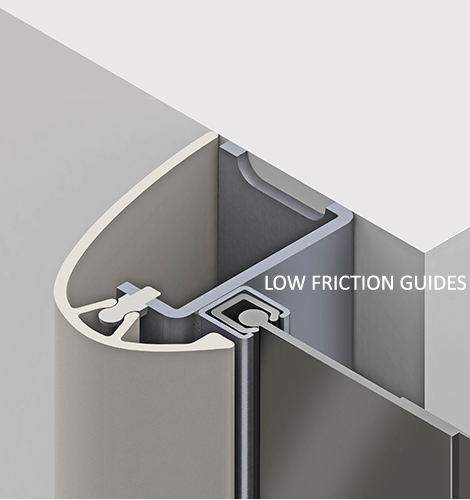 Low-Friction-Guides